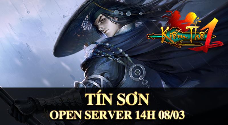 KIẾM THẾ 1 - GAME KIẾM HIỆP OPEN SERVER TÍN SƠN 14H ngày 08/03